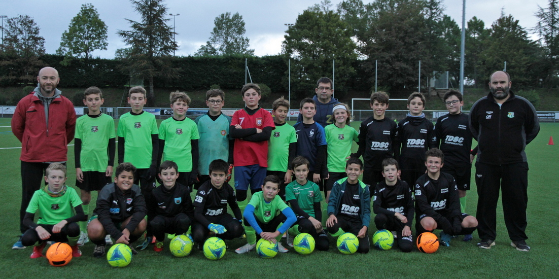U13 – La photo de groupe 2020-2021